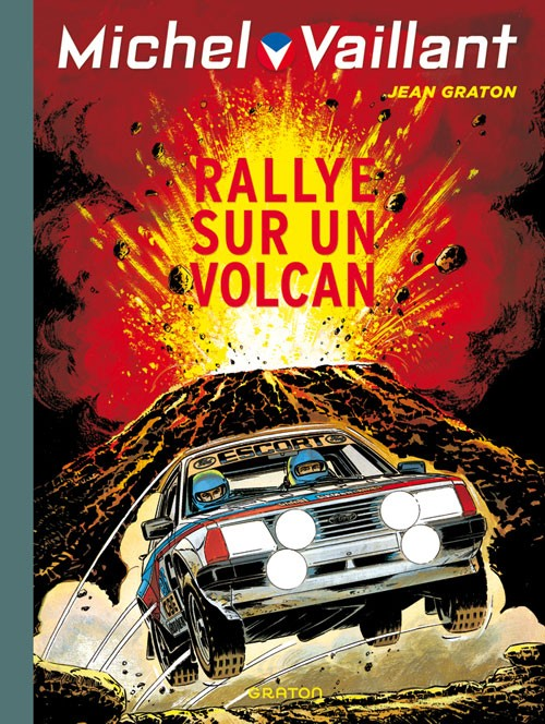 Couverture de Michel Vaillant (Dupuis) -39- Rallye sur un volcan