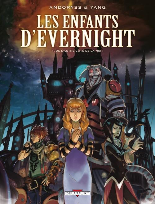 Couverture de Les enfants d'Evernight -1- De l'autre côté de la nuit