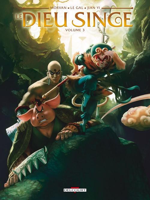 Couverture de Le dieu singe -3- Volume 3