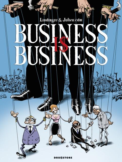 Couverture de Business is Business