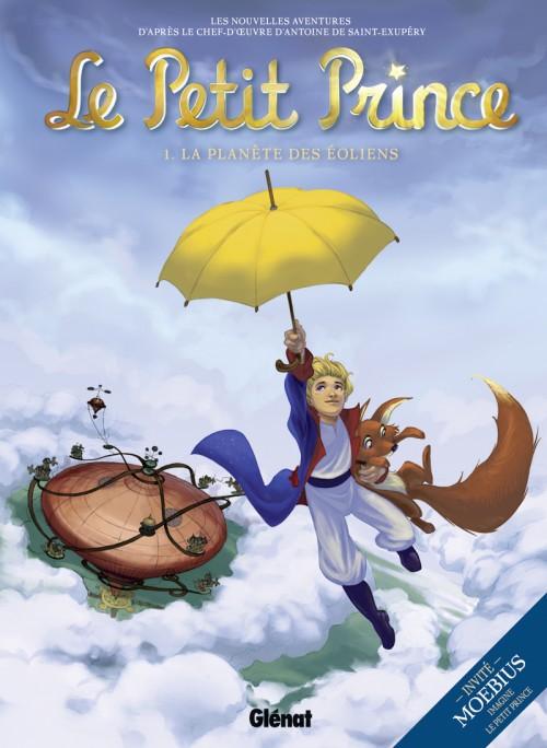 Couverture de Le petit Prince - Les Nouvelles Aventures -1- La Planète des Éoliens