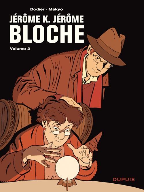 Couverture de Jérôme K. Jérôme Bloche -INT2- L'intégrale - Tome 2