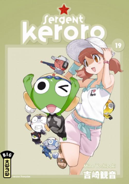 Couverture de Sergent Keroro -19- Tome 19