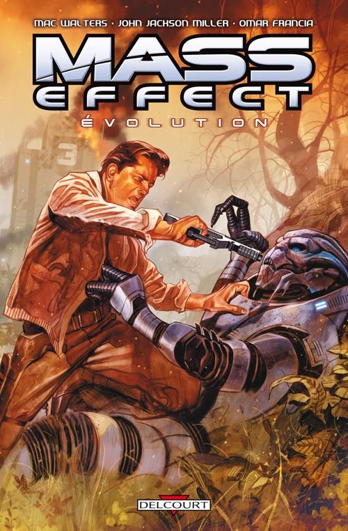 Couverture de Mass Effect - Evolution