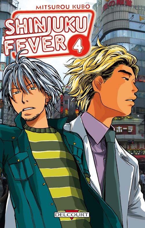 Couverture de Shinjuku Fever -4- Tome 4
