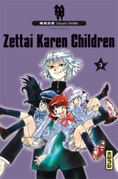 Couverture de Zettai Karen Children -3- Volume 3