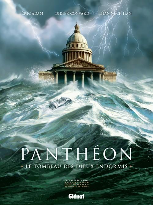 Couverture de Panthéon, Le Tombeau des dieux endormis