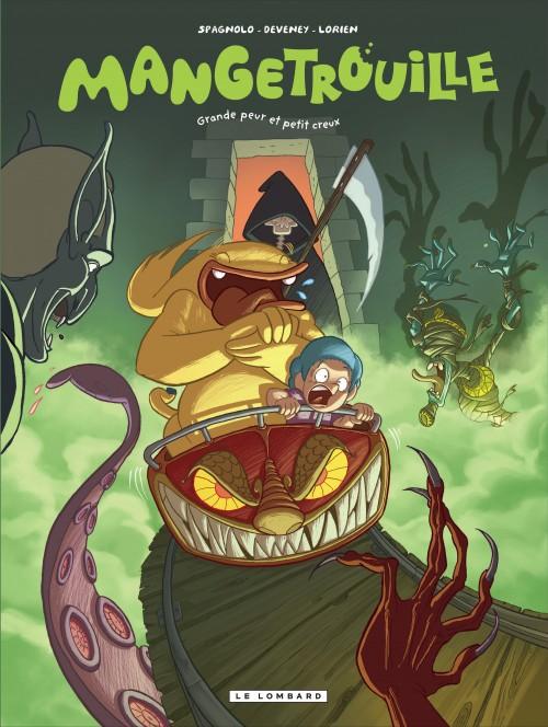 Couverture de Mangetrouille -2- Grande peur et petit creux