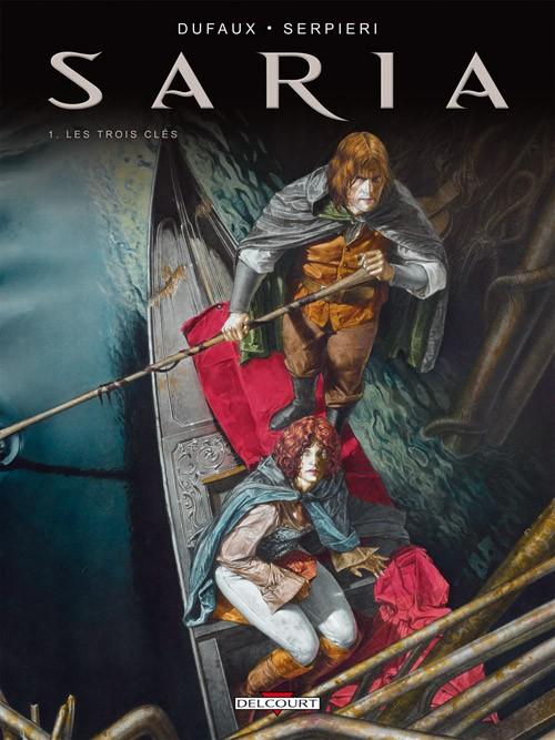 Couverture de Saria -1- Les Trois Clés