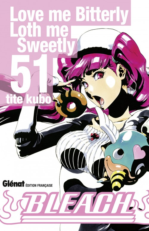 Couverture de Bleach -51- Love me Bitterly Love me Sweetly