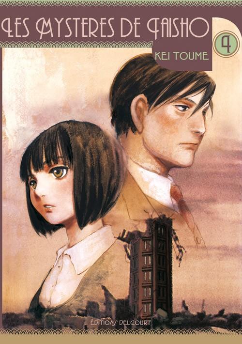 Couverture de Les mystères de Taisho -4- Volume 4