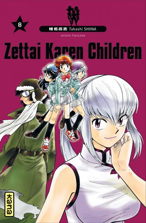 Couverture de Zettai Karen Children -8- Tome 8