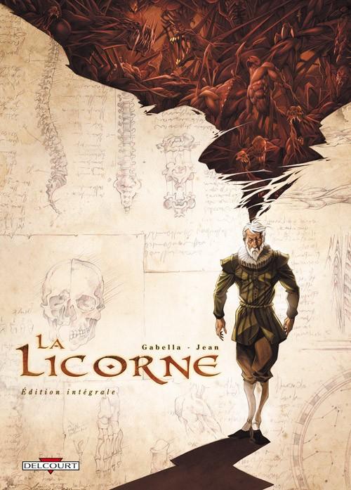 Couverture de La licorne -INT- Intégrale