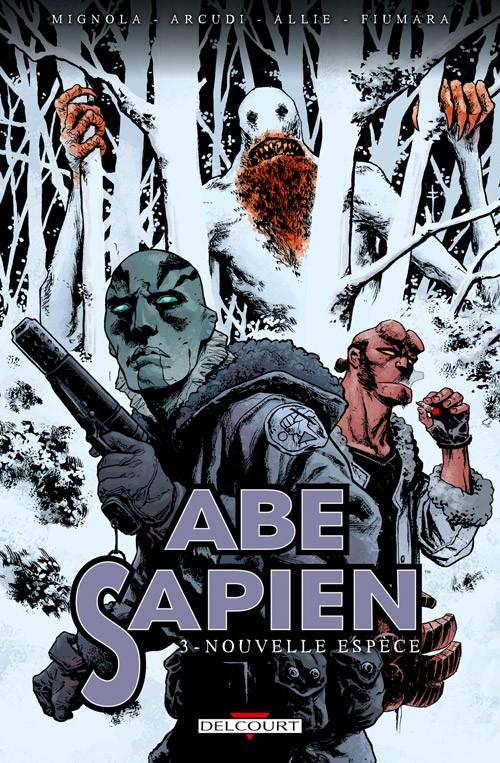 Couverture de Abe Sapien -3- Nouvelle espèce