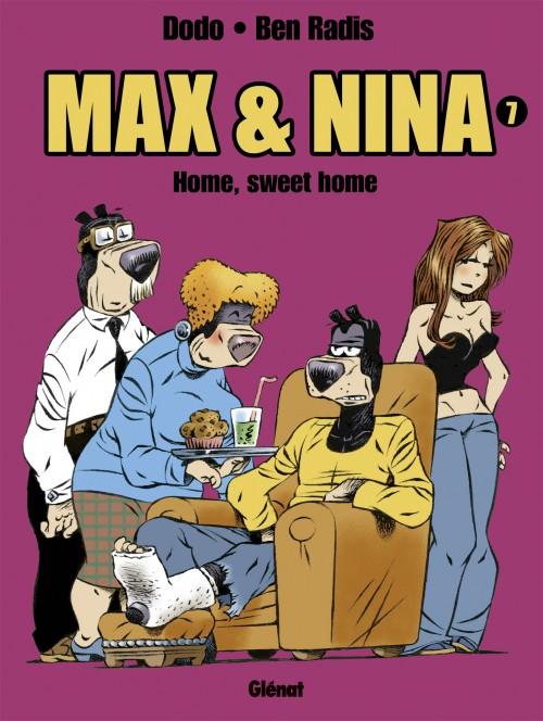 Couverture de Max et Nina -7- Home, sweet home