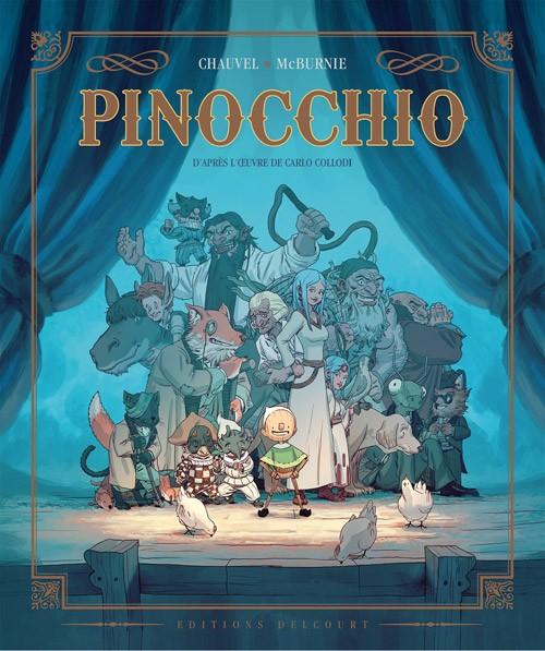 Couverture de Pinocchio (McBurnie) - Pinocchio