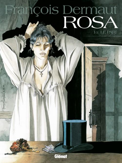 Couverture de Rosa -1- Le Pari
