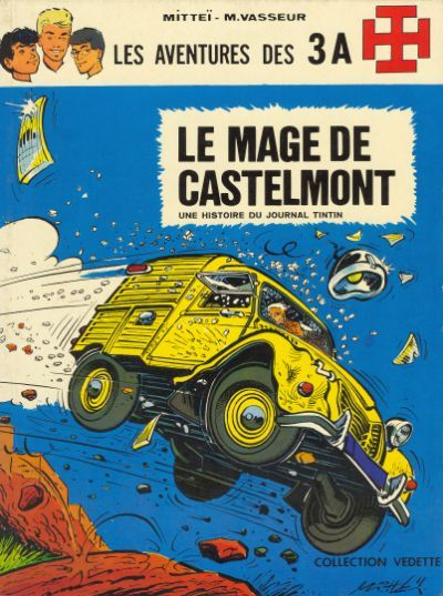 Couverture de 3 A (Les aventures des) -6- Le mage de Castelmont