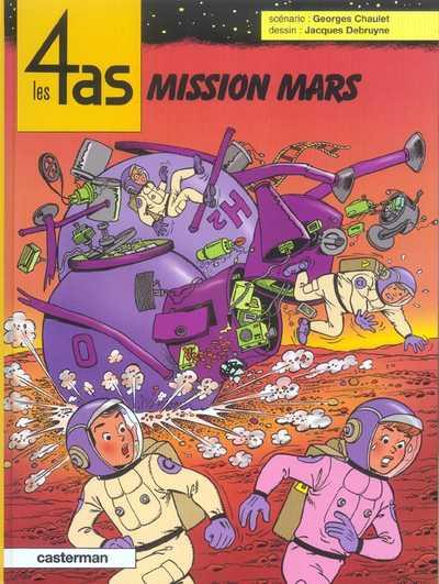 Couverture de Les 4 as -42- Mission Mars