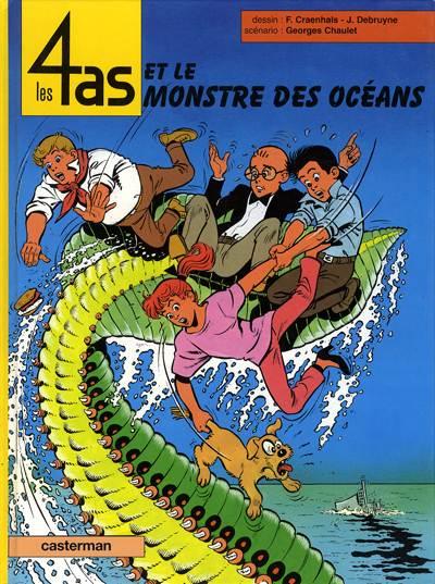Couverture de Les 4 as -38- Les 4 as et le monstre des océans