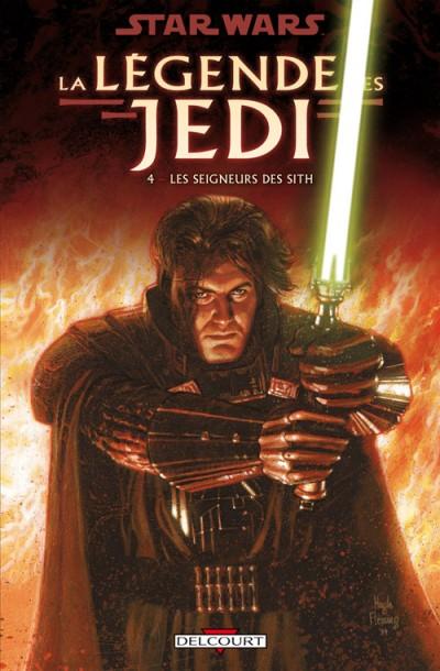 Couverture de Star Wars - La légende des Jedi -4- Les Seigneurs des Sith