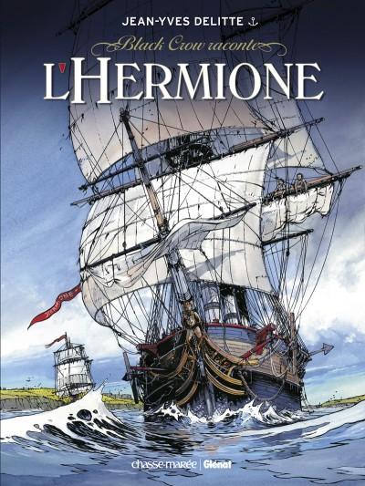 Couverture de Black Crow -HS- Black Crow raconte L'Hermione - La Conspiration pour la liberté