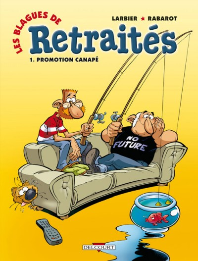 Turbo Les blagues de retraités -1- Promotion canapé KG43