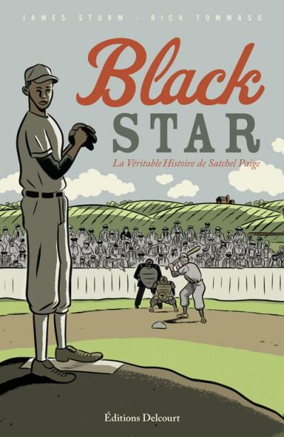 Couverture de Black Star - La véritable histoire de Satchel Paige