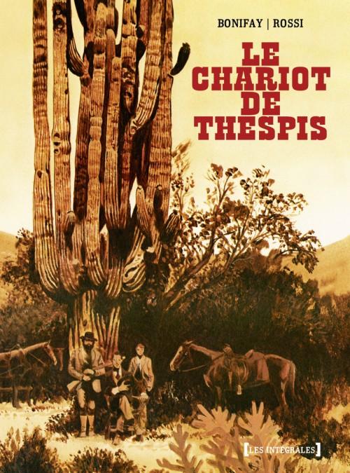 Couverture de Le chariot de Thespis -INT- Le Chariot de Thespis