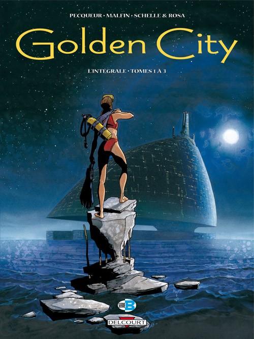 Couverture de Golden City -INT1- Intégrale - Tomes 1 à 3