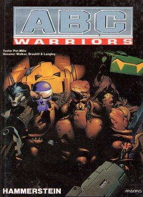 Couverture de ABC Warriors (Zenda) -5- Hammerstein