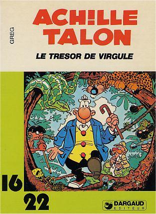 Couverture de Achille Talon (16/22) -1195- Le trésor de Virgule