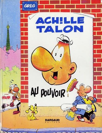 Couverture de Achille Talon -6- Achille Talon au pouvoir