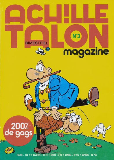 Couverture de Achille Talon Magazine -3- Les ahlalaaaas
