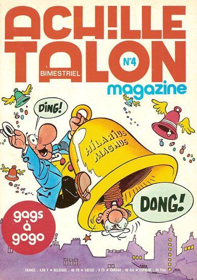 Couverture de Achille Talon Magazine -4- Les aventures de papa talon