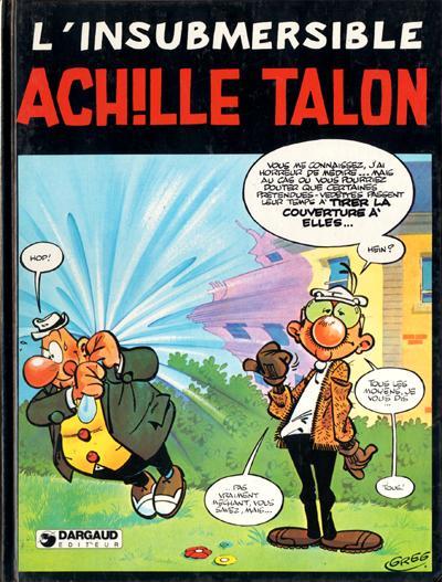 Couverture de Achille Talon -28- L'insubmersible Achille Talon