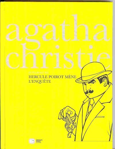 Couverture de Agatha Christie - Intégrale BD -1- Hercule Poirot mène l'enquête