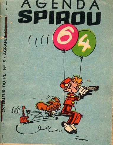 Couverture de Spirou et Fantasio -2- (Divers) -MR1339- Agenda Spirou 64