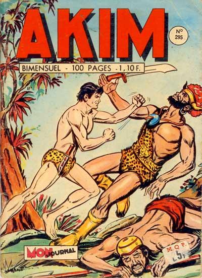 Couverture de Akim (1re série) -295- Une montagne de bananes roses