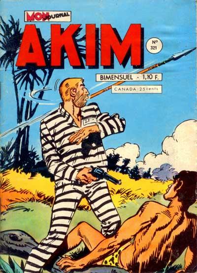 Couverture de Akim (1re série) -321- La colonne des sacrifices
