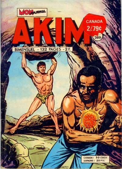 Couverture de Akim (1re série) -389- L'or des Maonys