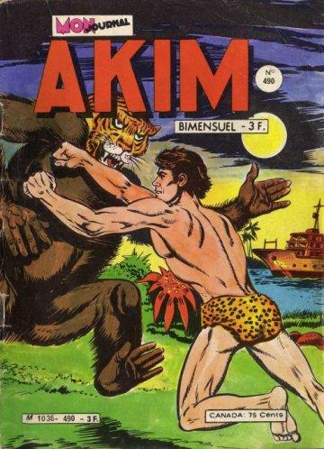Couverture de Akim (1re série) -490- L'île aux monstres