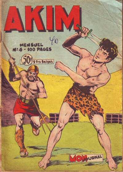 Couverture de Akim (1re série) -4- Le comte Rank a péri dans un naufrage