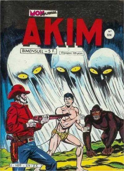 Couverture de Akim (1re série) -574- La nuit de la pleine lune