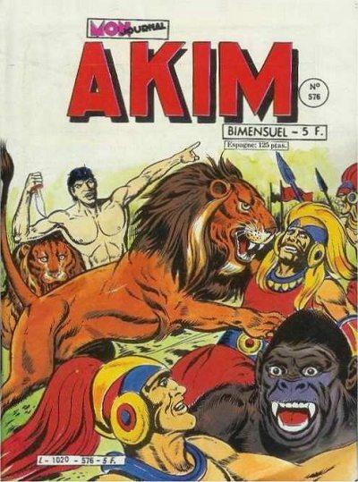 Couverture de Akim (1re série) -576- Le vieux souterrain