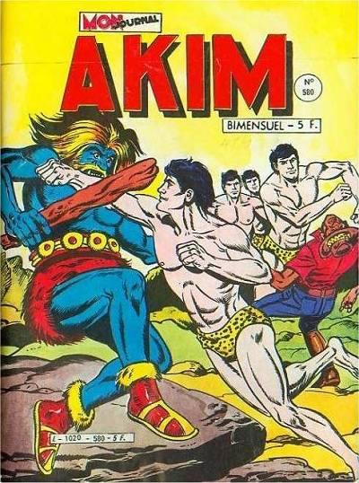 Couverture de Akim (1re série) -580- La