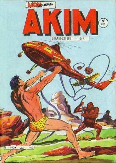 Couverture de Akim (1re série) -613- Poursuite dans la jungle