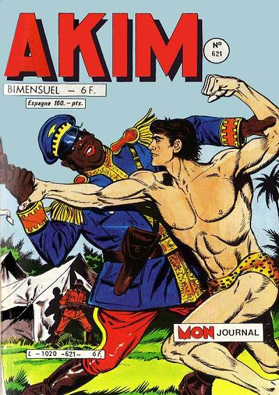 Couverture de Akim (1re série) -621- Un cow-boy dans la jungle