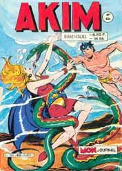Couverture de Akim (1re série) -633- L'idole verte