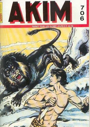 Couverture de Akim (1re série) -706- Le lion géant